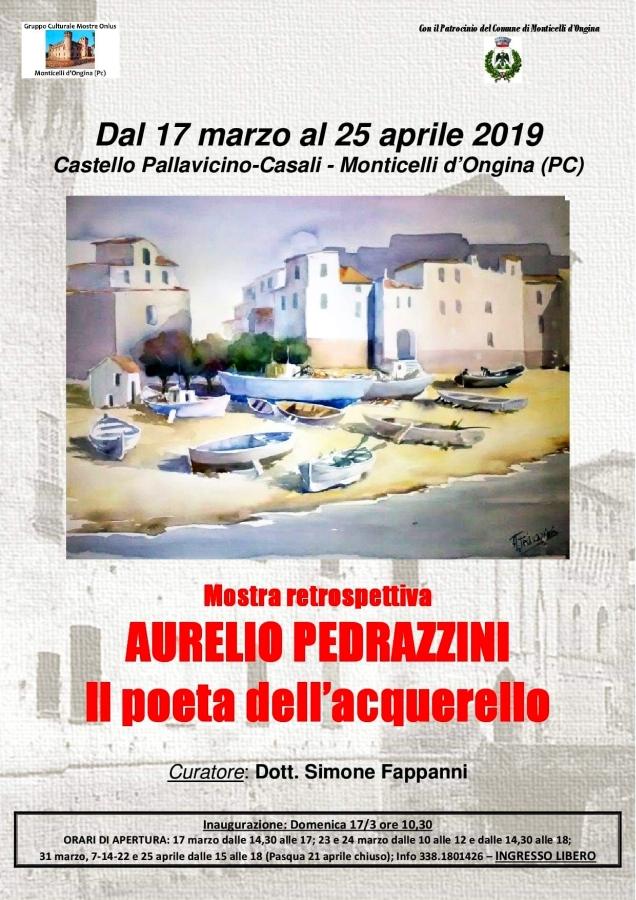 Aurelio Pedrazzini Mostra Retrospettiva